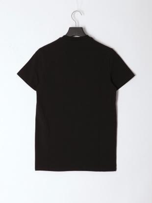 BLACK メンズ Vネックシンプルロゴ半袖Teeを見る