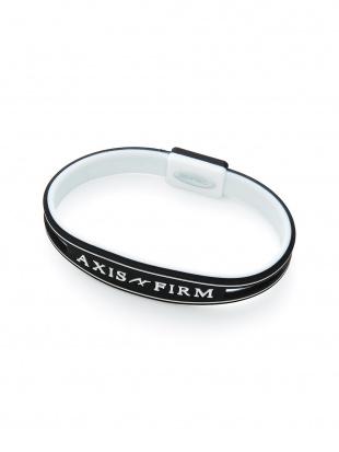 BLACK シリコンブレスレット「AXF AXISFIRM」を見る