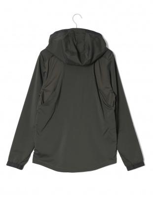 ブラック UA Vanish Woven Jacket フーデッド ジップアップ ジャケットを見る
