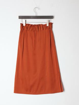 キャメル COサテンスカートを見る