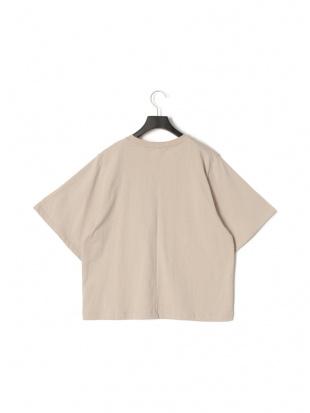 グレージュ 五分袖 Tシャツを見る