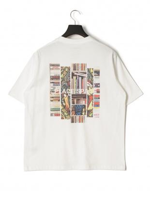 ホワイト プレイス プリント 半袖Tシャツを見る