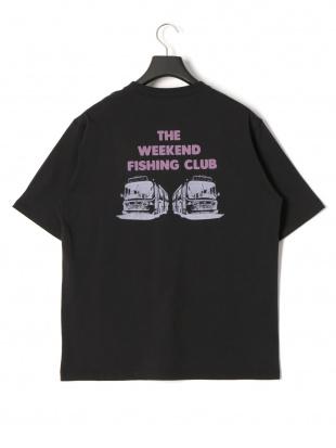 ブラック フィッシングクラブ プリント 半袖Tシャツを見る