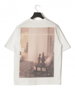 ホワイト キープカーム プリント 半袖Tシャツを見る