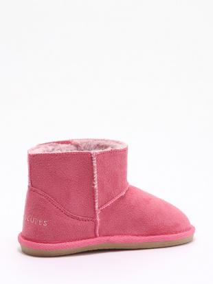 ピンク ブーツを見る