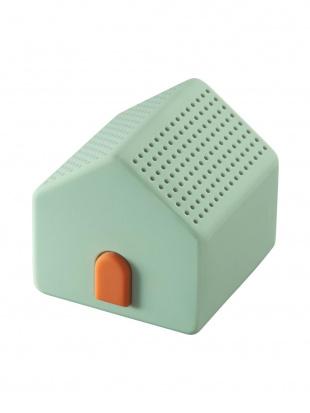 ライトグリーン ワイヤレススピーカー ハウス(ライトグリーン)を見る