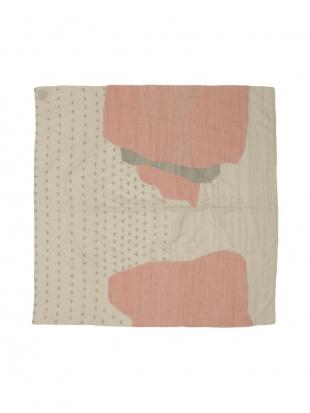 ルートライトブルー/タンジェリン JUDITH BOURDIN プリント スカーフを見る
