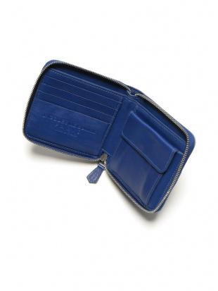 ウォッシュドジーンズ/ブルー Jacques Le Corre ラウンドジップ 財布を見る