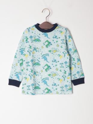 サックス 恐竜柄 キルトパジャマを見る