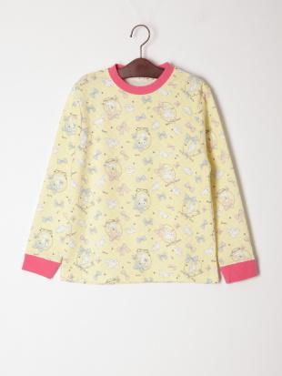 クリーム ウサギ柄 キルトパジャマを見る