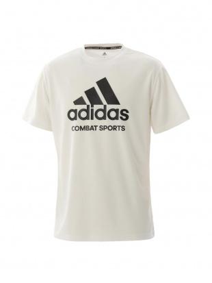 WHITE/BLACK [adidas combat sports/アディダスコンバットスポーツ]T-shirt Tシャツadictcsを見る