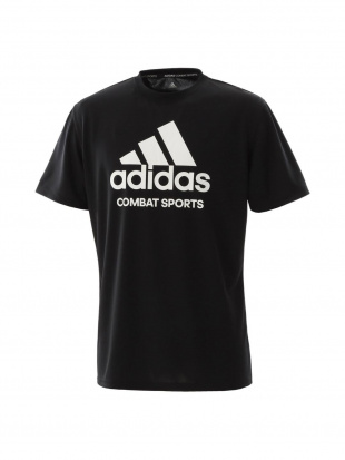 BLACK/WHITE [adidas combat sports/アディダスコンバットスポーツ]T-shirt Tシャツadictcsを見る