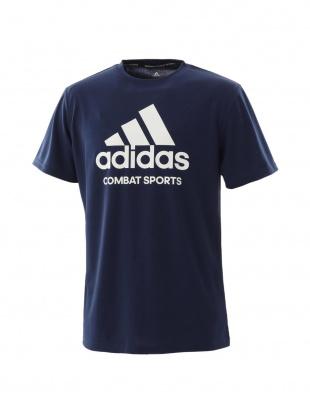 NAVY/WHITE [adidas combat sports/アディダスコンバットスポーツ]T-shirt Tシャツadictcsを見る