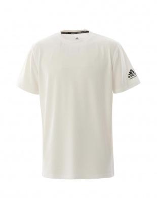 White/Black [adidas combat sports/アディダスコンバットスポーツ] T-shirt 肩ロゴTシャツを見る