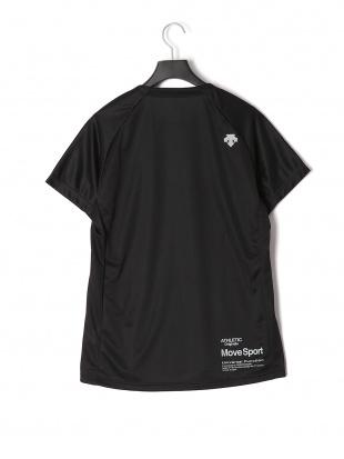 ブラック DESCENTE TRAINING プリント 半袖Tシャツ(MOVE)を見る