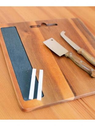 チーズナイフ&カッティングボードwith スレートボード セットを見る