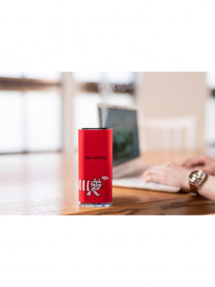 レッド リサ・ラーソン 超音波式USB卓上加湿器を見る