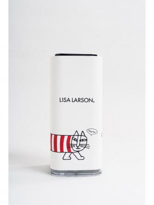 ホワイト リサ・ラーソン 超音波式USB卓上加湿器を見る