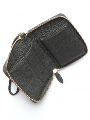 ダークグリーン KUBERA round mini wallet (shrunken calf)を見る