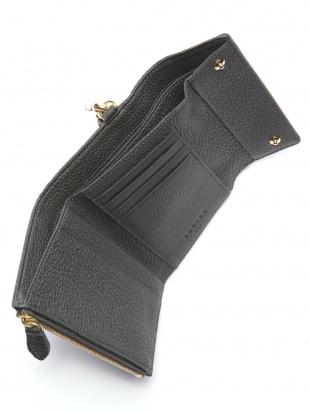 ダークグリーン KUBERA tri-fold wallet (shrunken calf)を見る