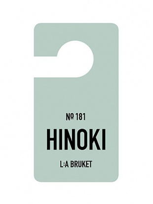 181 Fragrance Tag Hinoki 2個セットを見る
