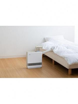ホワイト 2in1ふとん乾燥機能付人感センサーセラミックヒーター「ドライヒート」を見る