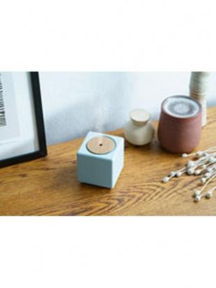 ブルーグレー 充電式コードレス加湿器「キュービック」を見る