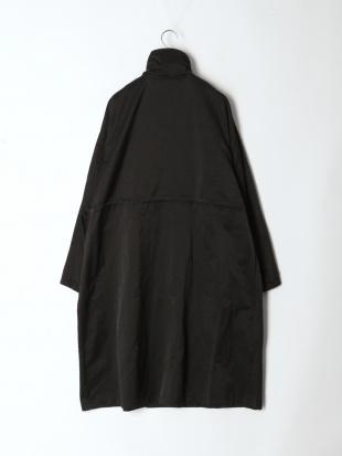 ブラック オーバーサイズミリタリーコートを見る