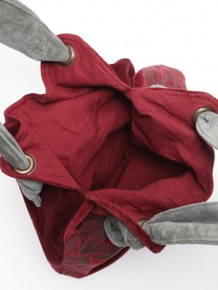 コットンベロア刺繍バッグを見る