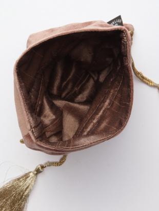 ベロア刺繍巾着 ブルーグレー&ベロア刺繍巾着 ピンクブラウンを見る