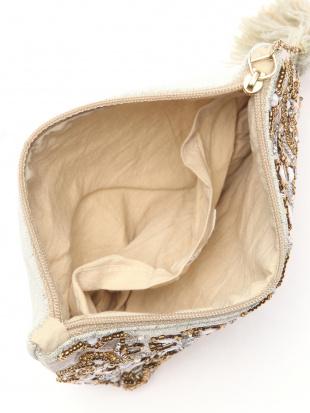 ビーズ刺繍ポーチ セージ&ビーズ刺繍ジュエリーボックス セージを見る