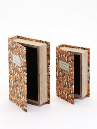 ブックボックスL オレンジ&ブックボックスS オレンジを見る