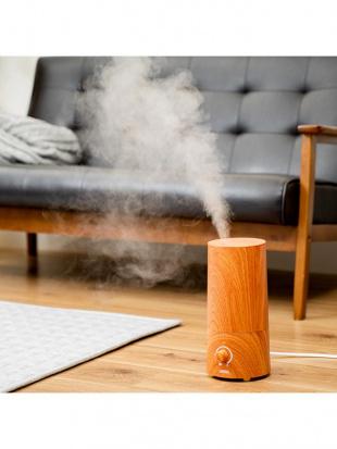 オールドプレーン きれいなミストで加湿するアロマ超音波式加湿器-wood-を見る