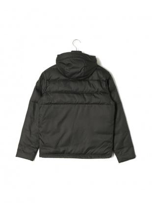 ブラック UA Sportstyle Down Hooded Jacket フーデッド ジップアップ ダウンジャケットを見る