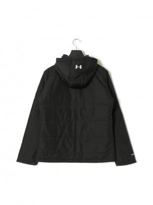 ブラック TS Team UA Try JKT 中綿入 フーデッド ジップアップ ジャケットを見る
