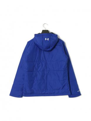 ブルー TS Team UA Try JKT 中綿入 フーデッド ジップアップ ジャケットを見る