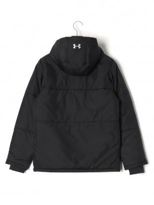 ブラック UA INSULATED JACKET 中綿入 フーデッド ジップアップ ジャケットを見る