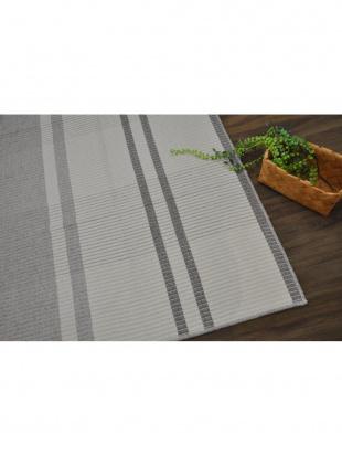 ベージュ 日本製 平織りラグ 130×190cm ベージュを見る