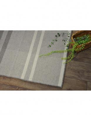 ブラウン 日本製 平織りラグ 130×190cm ブラウンを見る