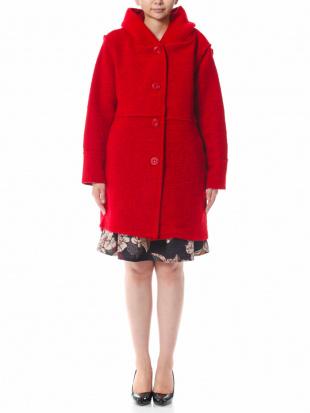 モカ イタリア製  ウールコートを見る