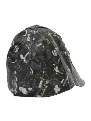 ブラック Jacques Le Corre デザイン ハットを見る