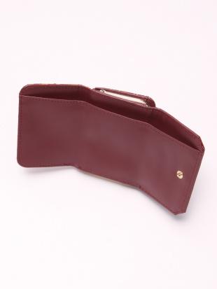 RED ジャガード財布を見る