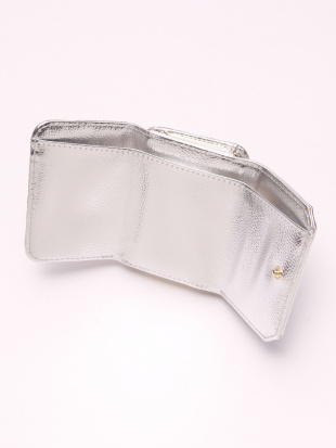 SILVER ジャガード財布を見る
