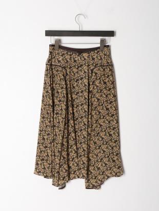 ブラウン スモールべリスプリントスカートを見る