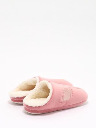 ピンク moz ボアルームシューズ M ピンクを見る