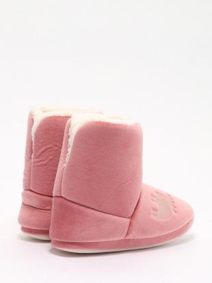 ピンク moz ボアルームブーツ M ピンクを見る
