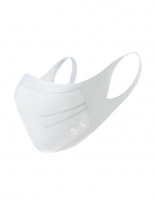 ホワイト UA スポーツマスク ホワイト 2枚セットを見る