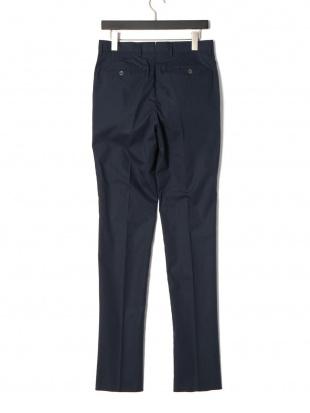 ブルー/キアロ PT01 タブフロント パンツを見る