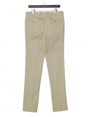 サッビア PT01 TINTO SLIM タブフロント パンツを見る