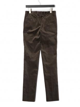 オリーブ (2852) 1-P CTN コーデュロイ タブフロント パンツを見る